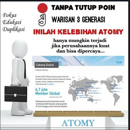 Bisnis Atomy Tak Perlu Jualan Produk