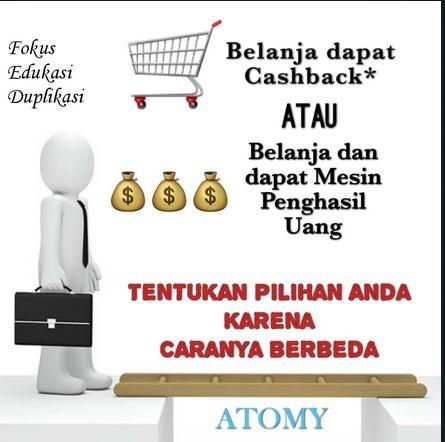 Tips Bisnis Atomy